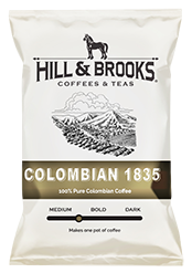 Hill & Brooks Coffees & Teas Colombian